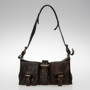 Mulberry Leather Blenheim Darwin leather bag